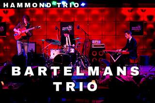 Bartelmans trio swingende hammond funk jazz