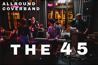 The 45 allround coverband